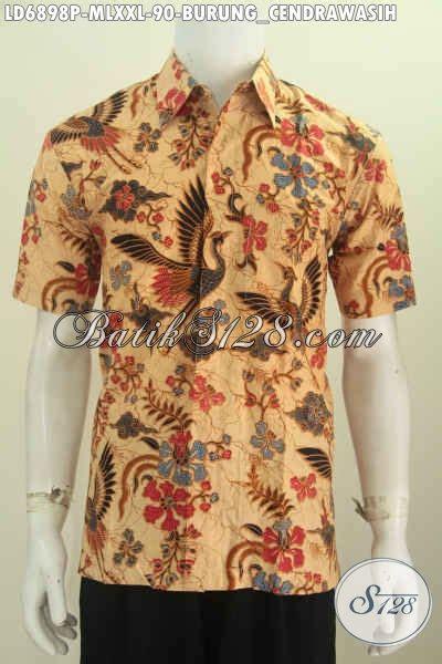 Baru Kardigan Jumbo Adem Istimewa baju batik jumbo motif trendy busana batik keren istimewa proses printing bahan adem spesial