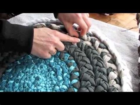 How Do I Make A Braided Rug by Diy How To Make A Braided Fabric Rug Stuff To Make