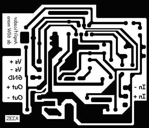 Audio Ic Tda 2052 St 60w lificador 120w rms esquema de montagem do lificador