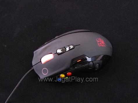 Mouse Macro Kecil review mouse gaming thermaltake volos besar dengan segudang makro