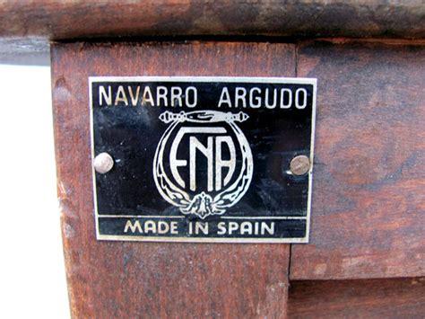 navarro argudo spanish tablestand collectors weekly