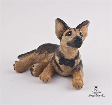 German Shepherd Cake Topper   My Custom Cake Topper