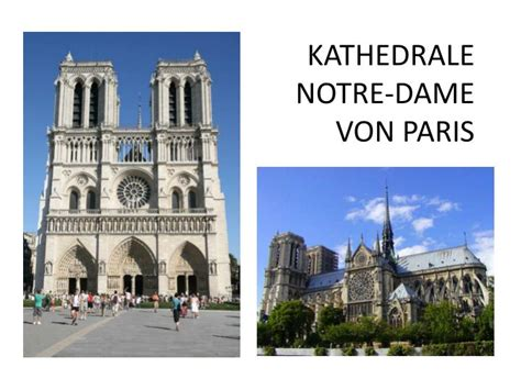 Notre Dame Mba Slide Presentation by Ppt Kathedrale Notre Dame Powerpoint