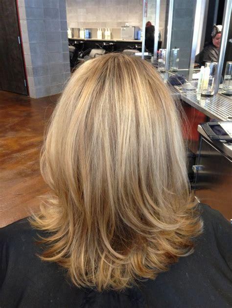 dark blonde with light blonde highlights blond hair hi lights and low lights blonde highlights