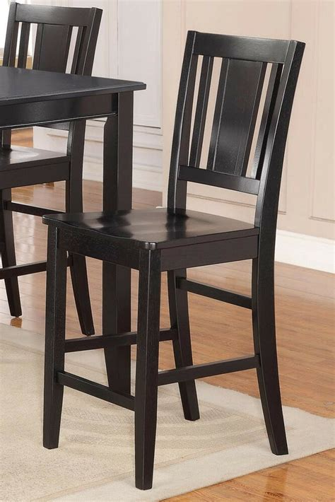 chair seat height set of 4 buckland kitchen counter height bar stool chairs