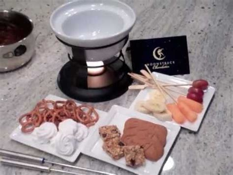 recipe to make chocolate fondue at home by moonstruck