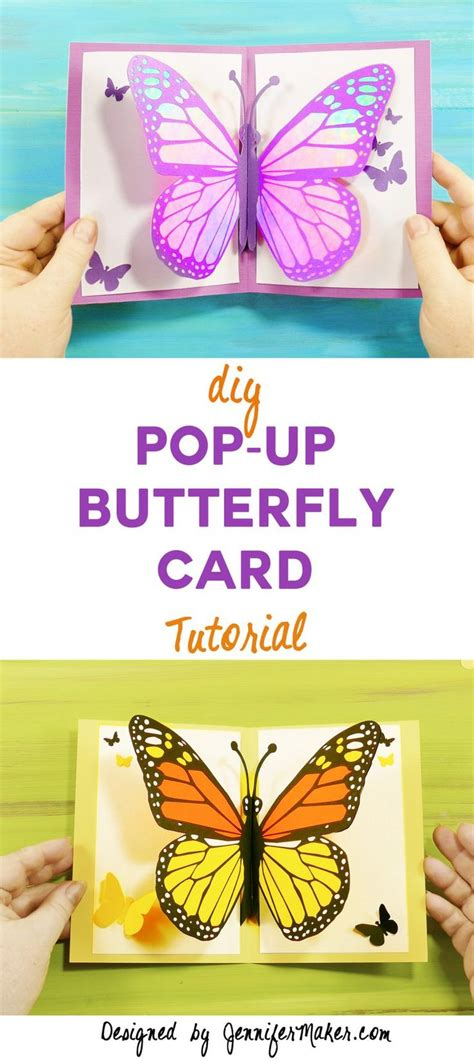 free butterfly pop up card templates best 25 kirigami tutorial ideas on origami