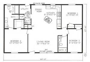 2 bedroom 2 bath house plans 3 bedroom 2 bathroom house