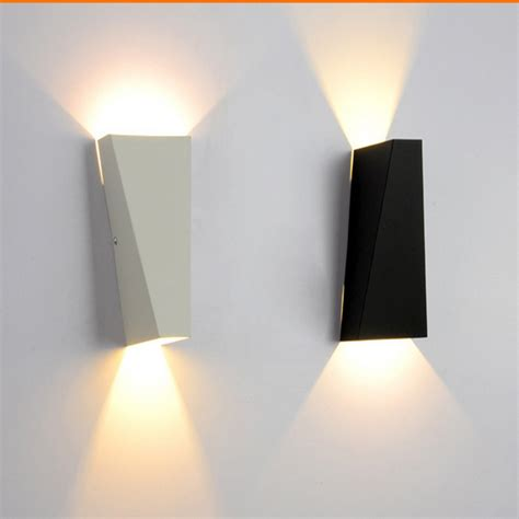 6w led light fashion metal wall l indoor wall lighting