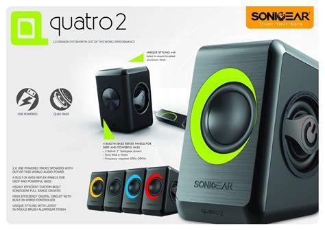 Sonicgear Quatro V Green Hijau sonicgear quatro 2 2 0 speaker b lime green 11street malaysia speakers headphones