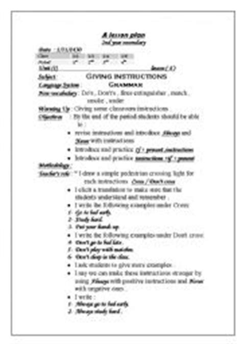 ktip lesson plan template sle lesson plan template for high school sle high
