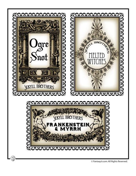 printable drink labels pin by hula heather on halloween potions other labels