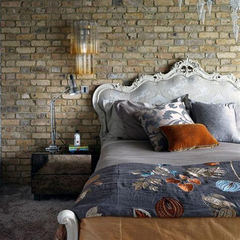 Industrial Bedroom Wall Cozy Industrial Home In Decoholic