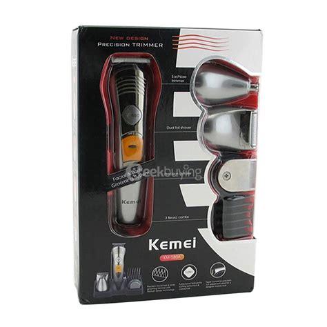 Kemei Km 580a Rechargeable 7 In 1 Profesioanal S Grooming Kit 1 kemei km 580a 7 in 1 professional multifunctional hair clipper razor