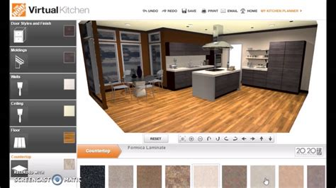 home depot design online homedepot virtual kitchen modern kitchen ideas