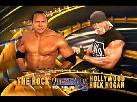 dwayne the rock johnson vs hulk hogan countdown to wrestlemania 31 day 18 the rock vs hulk