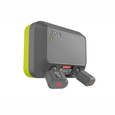 garage door laser ryobi garage laser park assist accessory gdm222 the home