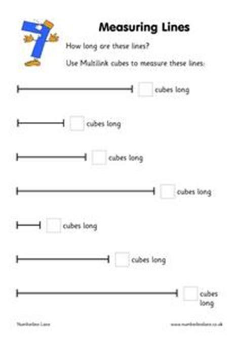 for everything 21 lessons to help you unlock measuring lines kindergarten 1st grade worksheet