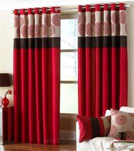 designer curtains for bedroom clarimont red brown designer lined curtain curtains