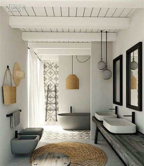interior design ideas bathrooms best 25 rustic modern bathrooms ideas on