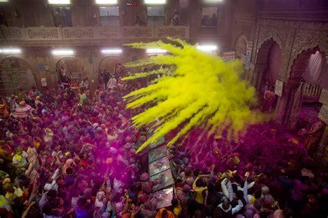 celebrate color a feast of spectacular colour as hindus celebrate holi