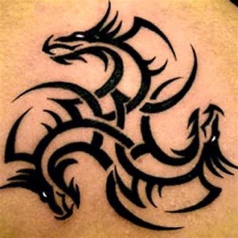 tribal dragon tattoo meaning designs and meanings
