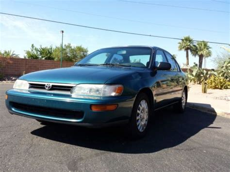 1994 Toyota Corolla Fuel Find Used 1994 Toyota Corolla Dx 4 Door 5 Speed Great Gas