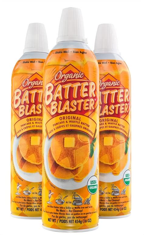Would You Use Batter Blaster by 1 1 Organic Batter Blaster Printable Coupon Faithful