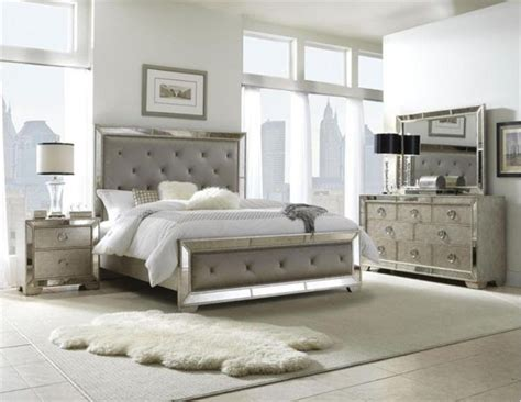 pulaski furniture farrah silver 5 king bedroom set