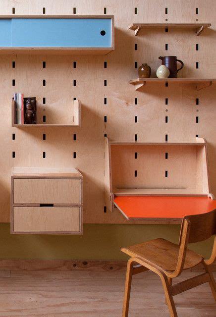 kerf wall fold  desk meble skrzyniowe pinterest