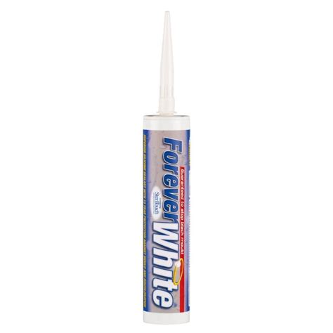 Plumbing Adhesives And Sealants by Forever White Sealant 310ml Davies