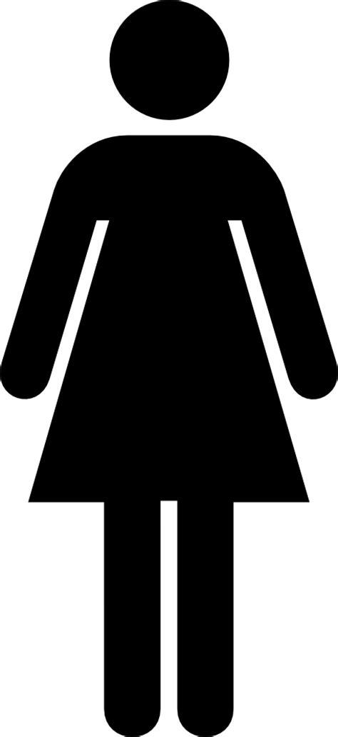 onlinelabels clip art aiga toilet women