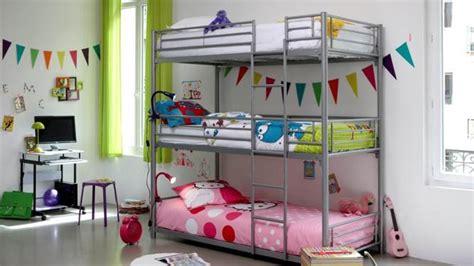 lit superposé chambre decoration chambre avec lit superpose visuel 4