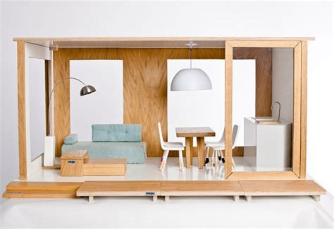 modern dollhouse miniio modern dollhouses are sustainably crafted homes for