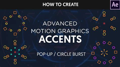 copyright symbol 169 for premiere pro after effects after effects tutorial animated circle burst popups