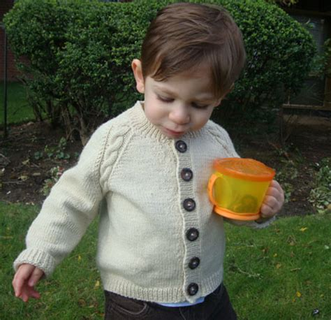 Sequel Raglan With Pattern Abu cable sweater knitting pattern baby child