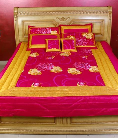 pink and yellow comforter sets kotton pink and yellow blends bedding set buy kotton