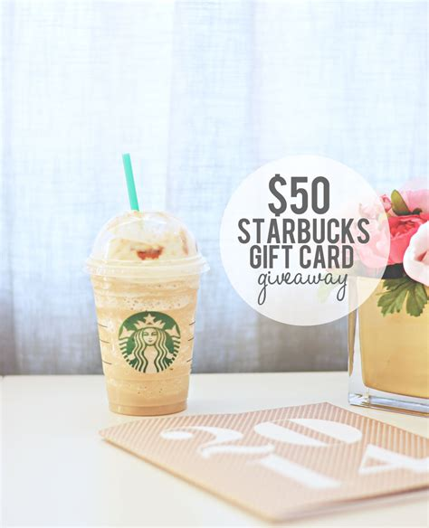 Bucks Giveaway - starbucks caramel flan latte 50 starbucks giveaway 187 little inspiration