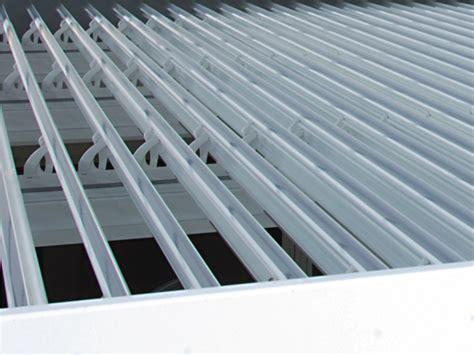 frigerio tende pergolato in alluminio a lamelle orientabili ondula by