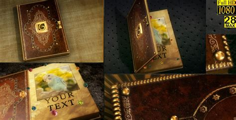 Magical Open Book By Max28 Videohive After Effects Book Opening Template