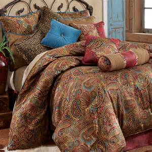 King Size Bedding Paisley San Angelo Paisley Comforter Bedding
