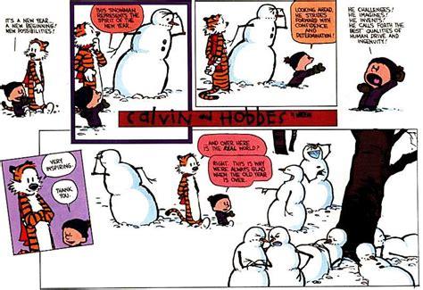 calvin and hobbes snowmen calvin s snowmen