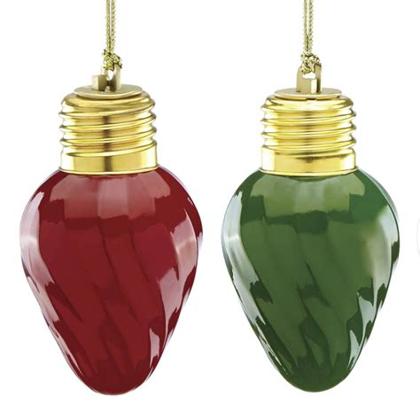 Lenox Mini Vintage Light Bulb Ornaments 2017 Christmas Ornaments Light Bulbs
