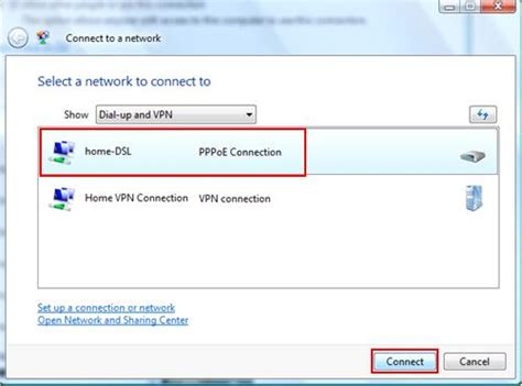 speed up cable connection in vista