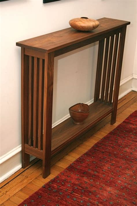 narrow small entry table 25 best ideas about narrow table on