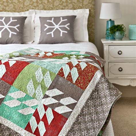 American Patchwork And Quilting Patterns - color options from american patchwork quilting 174 december