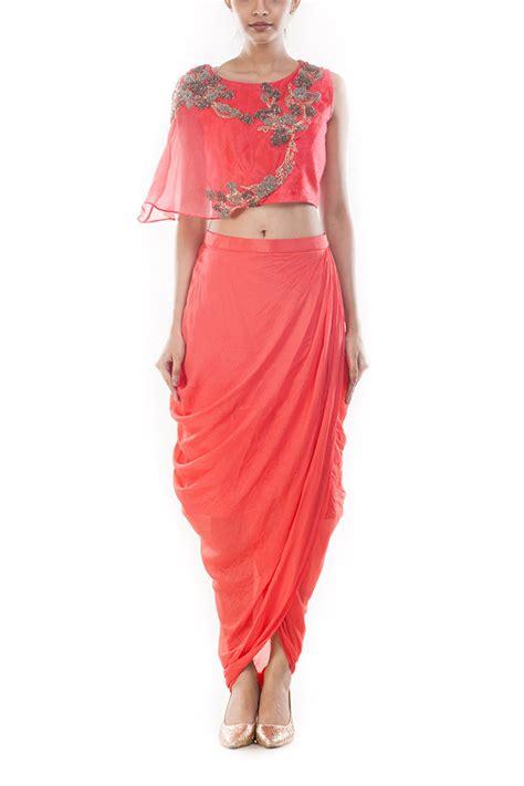 Tops Skrit buy crop tops and skirts cape tops at smritiapparels