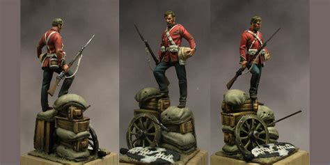 rorke s drift scale model figure 54mm by jose hidalgo