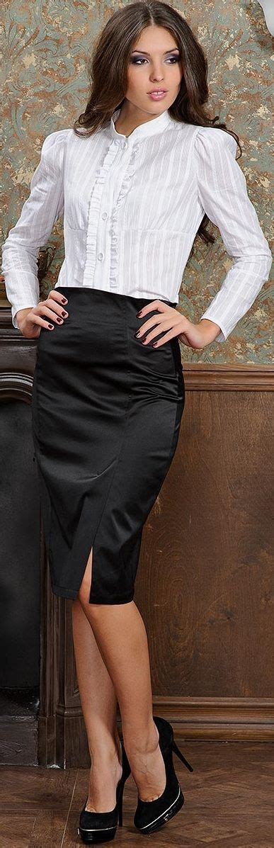 Pencil Skirt And Blouse Combo by
