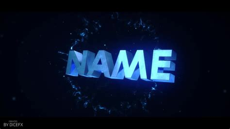 Free Intro Template By Dicefx Youtube Free Intro Templates